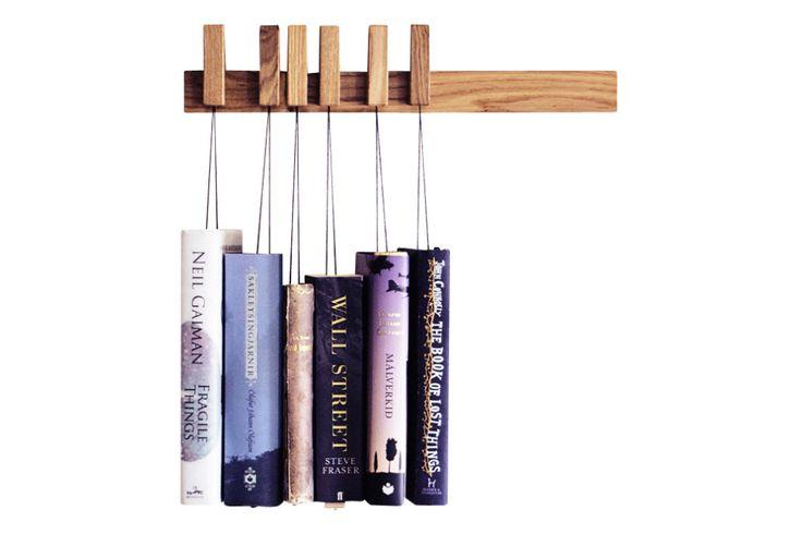 Book Rack Oak, Dark Brown, Short by agustav for agustav