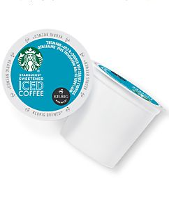 This Starbucks Sweetened Iced Coffee K-Cup pod was specially crafted to brew over ice so you can re-create the same rich iced coffee experience at home on your Keurig machine that you enjoy in our stores.
