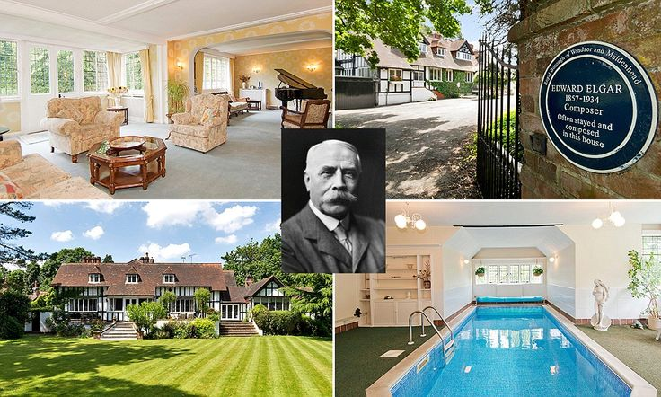 Mansion where Elgar composed music goes on the market for £2.25m
