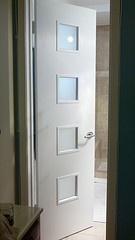 My custom Crestview Door Master Bathroom Door