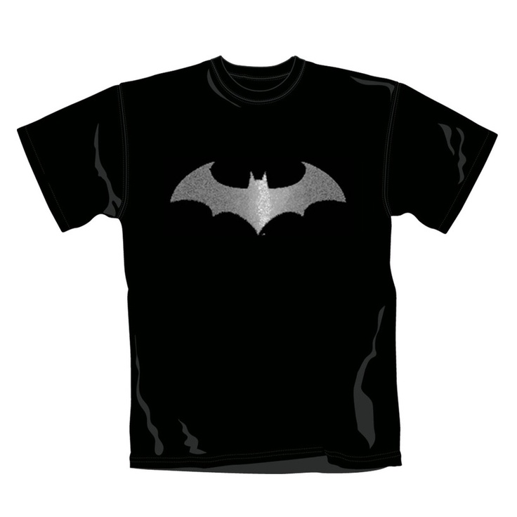 100% cotton, Men's crew neck t-shirt http://www.badsheepboutique.com/batman-modern-logo-foil-t-shirt-235-p.asp