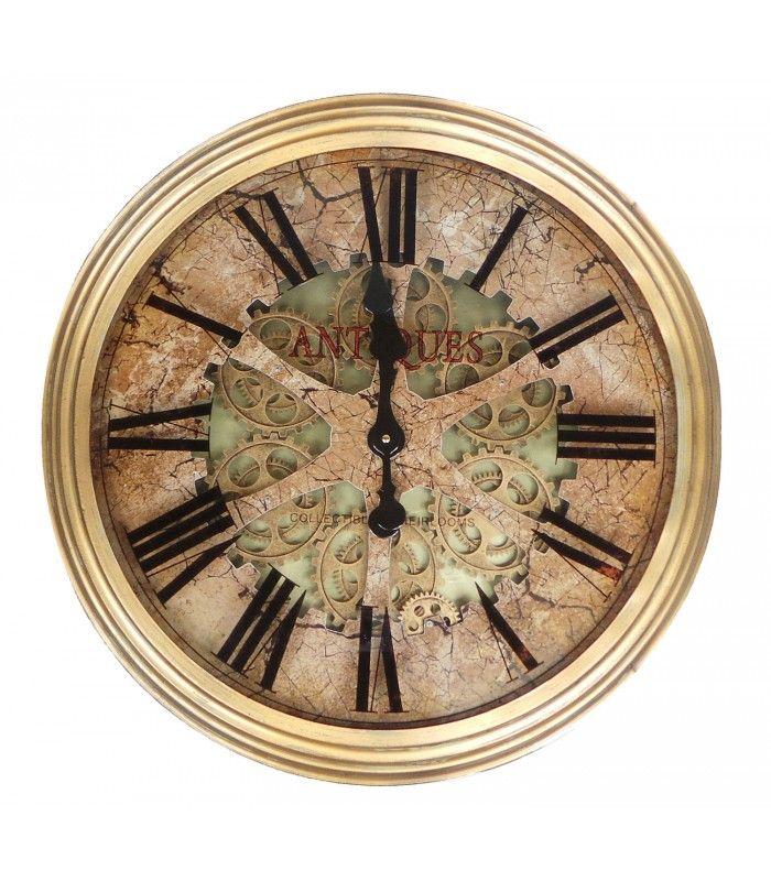 les 11 meilleures images du tableau horloges pendules sur pinterest horloge murale tendance. Black Bedroom Furniture Sets. Home Design Ideas