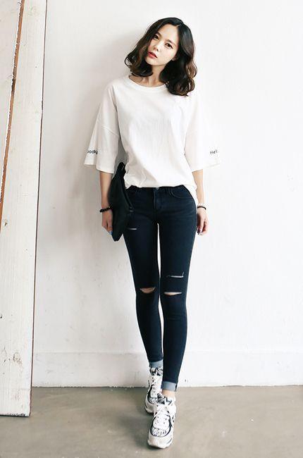 Resultado de imagem para korean style clothing                                                                                                                                                                                 Más