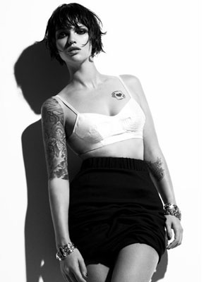 Noni Smith #Makeup #Beauty #Celebrity #Editorial Ruby Rose