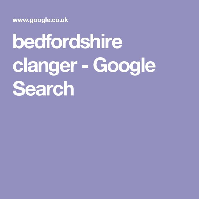 bedfordshire clanger - Google Search