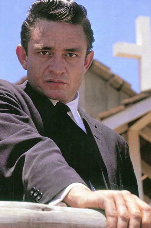 Johnny Cash photographed by Leigh Wiener