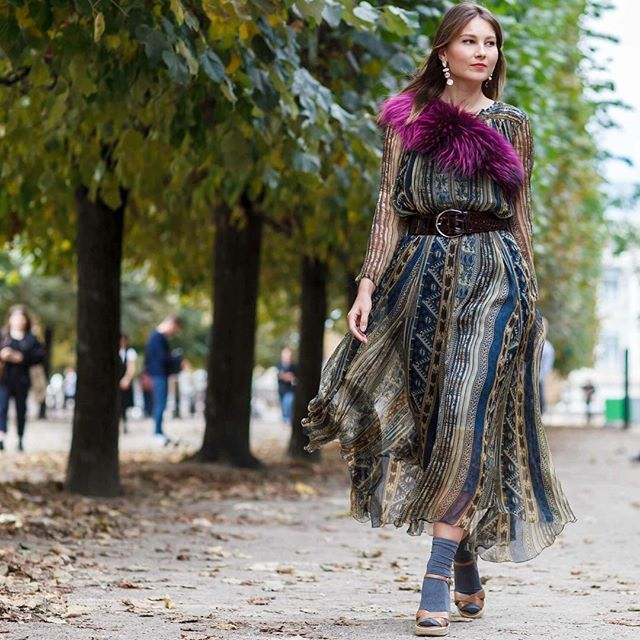 Bohemian print with @Angystearoom #Paris