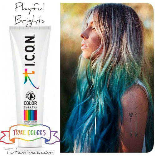 Buenos días Mundo!! #FelizSabado ¿Qué tal un poquito de #colorterapia para alegrarnos el día? Con #icon #ecotech #Playful #Brigths conseguirás un color con una durabilidad increíble, con tonos vibrantes y fuertes además de un pelo increíblemente hidratado y con un brillo excepcional. Descúbrelos haciendo click aquí