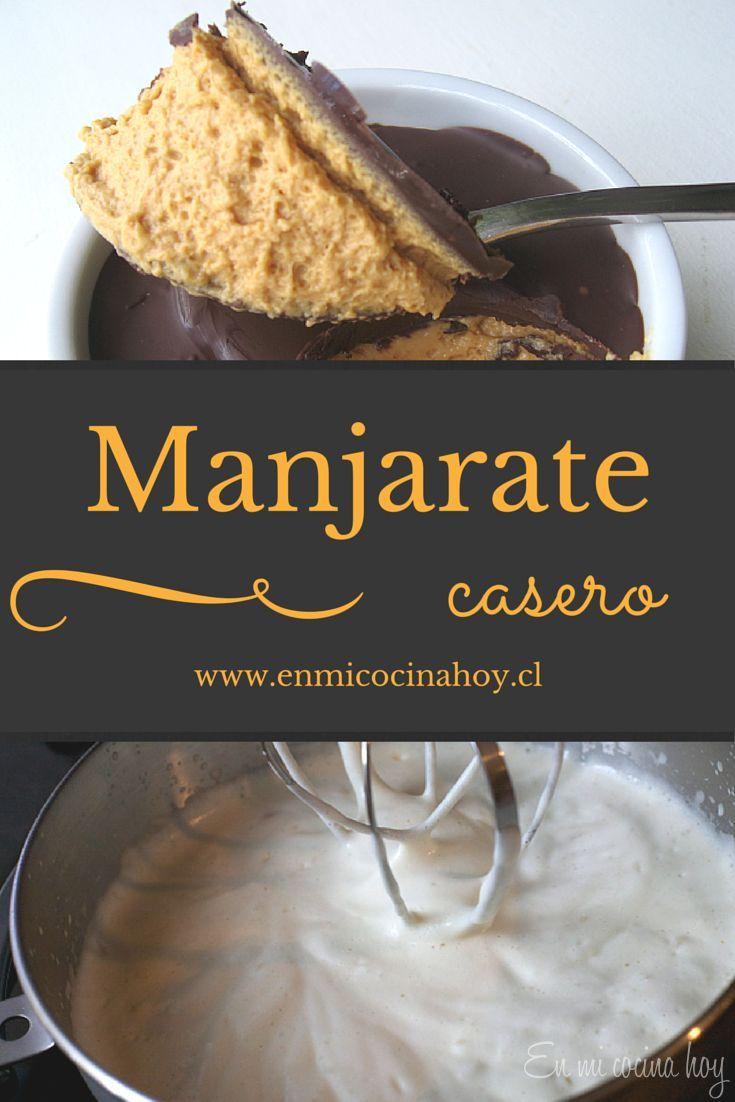 Manjarate casero, uno de los postres más ricos en Chile. Con esta receta lo…