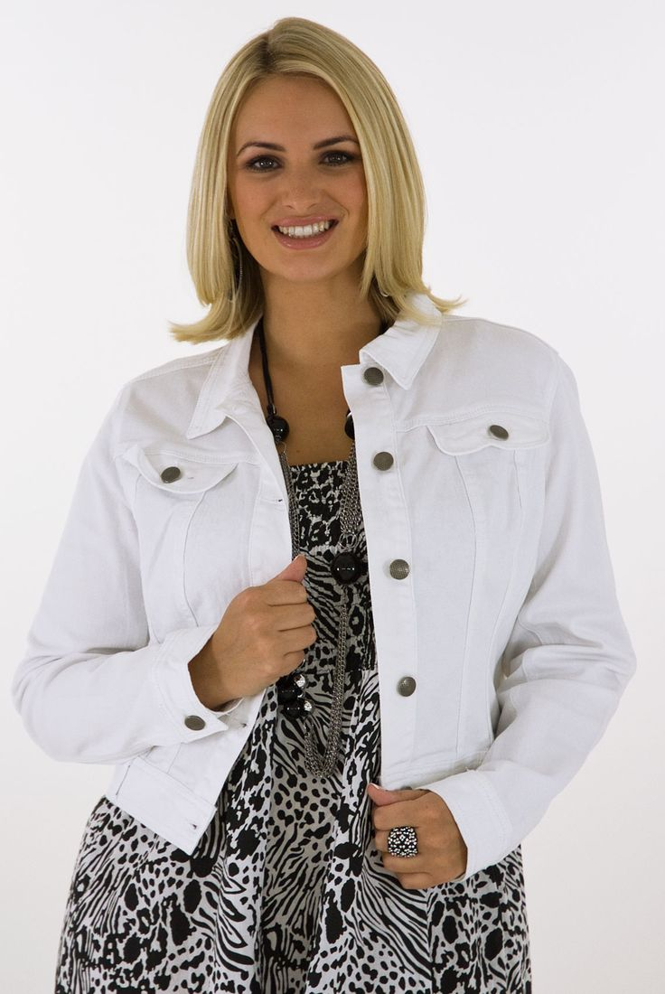 Casual-Women-jacket-white