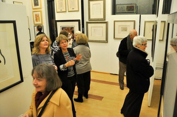 Reception of Picasso-Matisse Exhibition