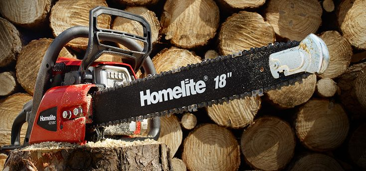 Homelite 18in. Chainsaw Review