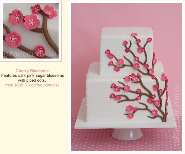 76 besten Cherry Blossoms Bilder auf Pinterest | Hochzeitstorten ...