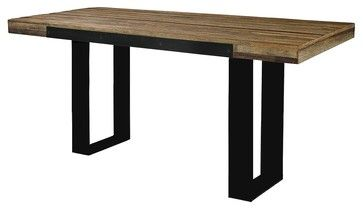 Industrial Pub Table - eclectic - bar tables - other metro - Zin Home