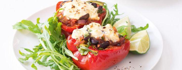 Plněné papriky s balkánským sýrem