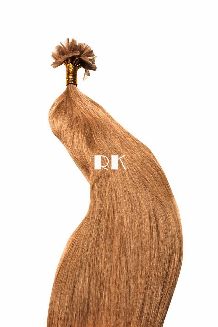 Extensiones de queratina de pelo natural REMY AAA color Rubio Dorado Oscuro. Cada pack contiene 25 mechones de queratina de 1 gramo cada uno y 55-60 cm de largo. Aunque el cabello se presenta liso, se ondula cuando se lava y/o aplica espuma y difusor.   Al tratarse de cabello natural humano, podrás teñirlo y/o rizarlo con plancha o tenacilla. Además, nuestras extensiones de queratina se caracterizan por presentar una mecha gruesa y poblada de raíz a puntas.  www.hairklip.com