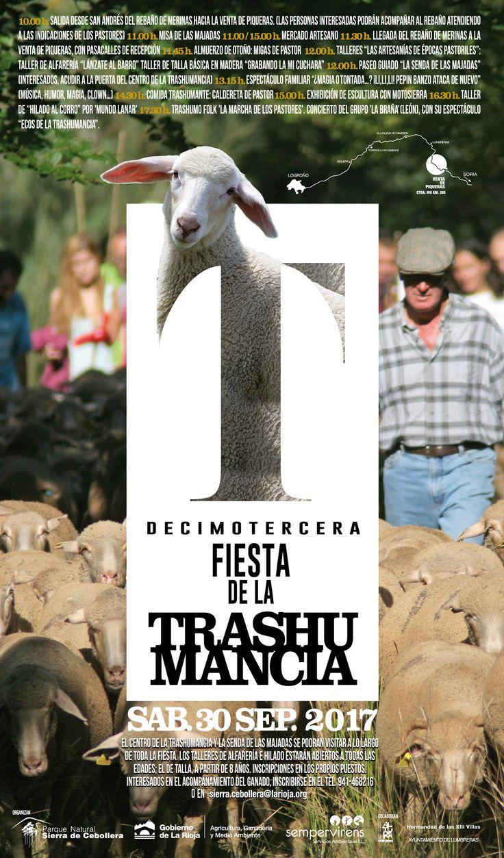 Ya podéis ver por la calle el diseño para este año de la Fiesta de la Trashumancia 17