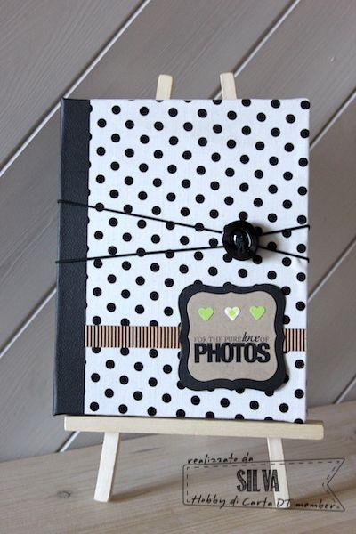 Hobby di Carta - Il blog: Mini album con cornice by Silva