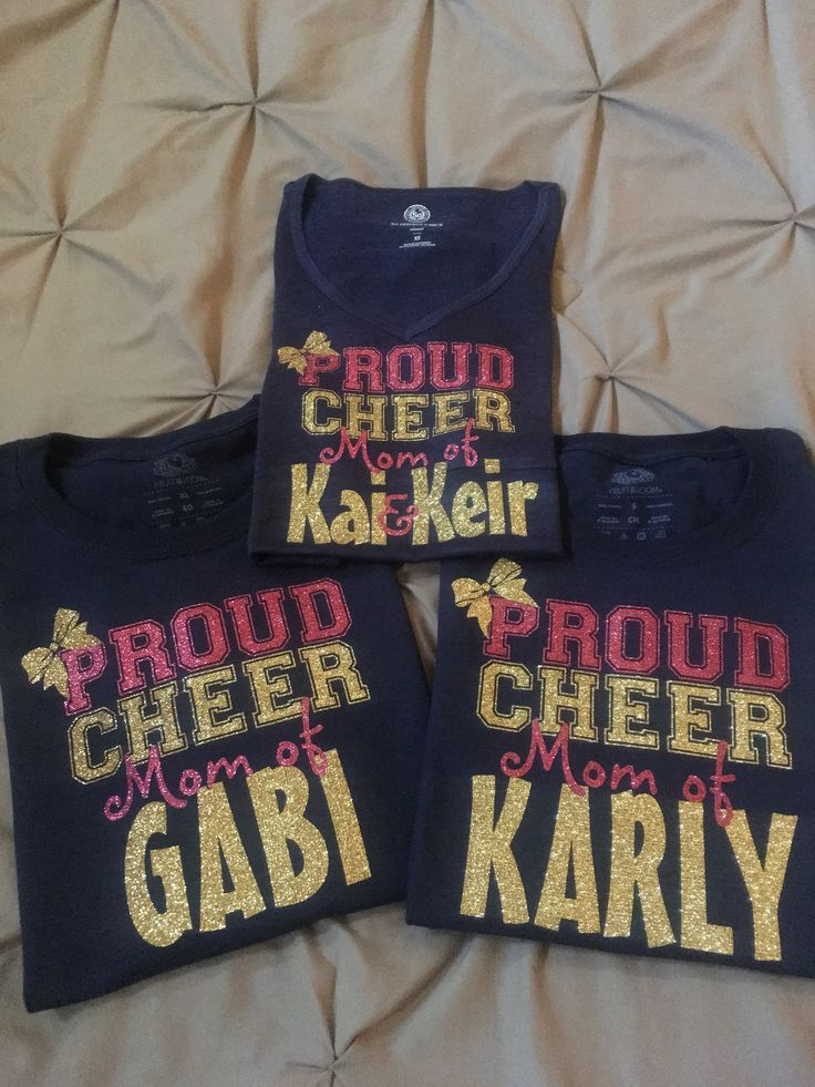 Proud Cheer Mom shirt
