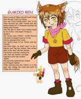 Gumiko Ren - Character REF by ZANNA-Nezuko