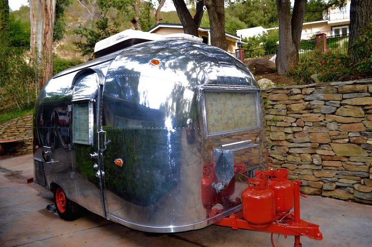 1962 Airstream BAMBI for sale 818-378-4278 www.airstreamvintagetrailers.com