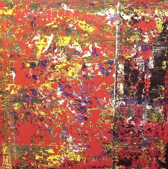 Untitled Acrylic on Canvas 24x24