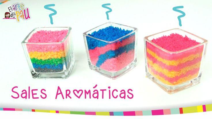 AROMATIC SALTS / SALES AROMÁTICAS DECORATIVAS