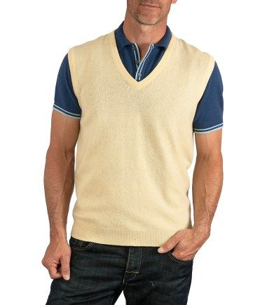 ILIAC GOLF MEN'S PRO TOUR YELLOW SWEATER VEST ON SALE TODAY!!! HIGH END men's athletic GOLF wear at LOW END prices! Men's ILIAC GOLF brand is designed by hand by Bert LaMar. We have Golf pants, shirts, shorts, sweaters, jackets and accessories galore at INCREDIBLY low prices! http://stores.ebay.com/realcoutureoforangecounty/