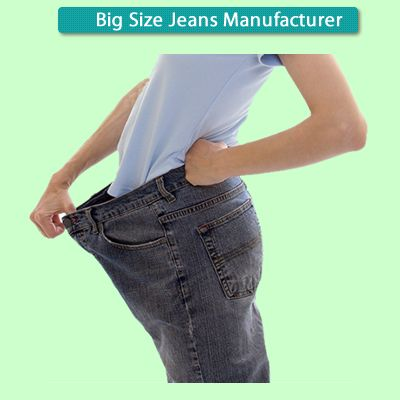 SQ Jeans offer Plus size Jeans with customers own measurements and style