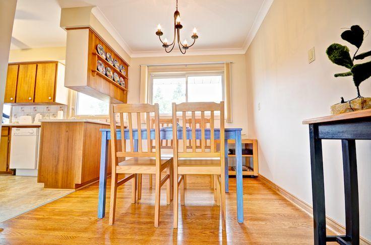 Enjoy family dinners in this bright, open concept dining room.  #Orangeville #OrangevilleOntario #OrangevilleRealEstate