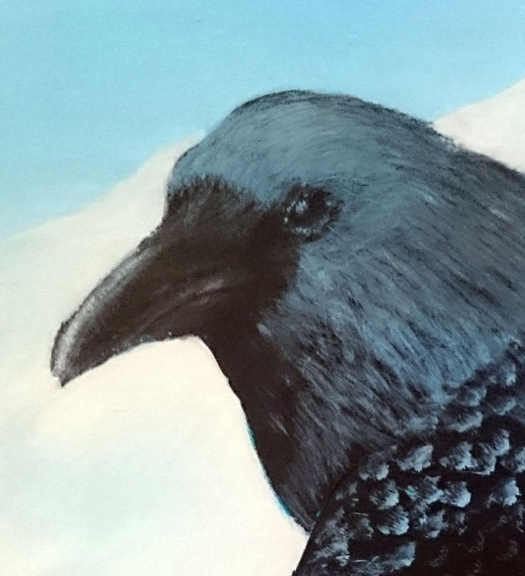 Lene and the Raven a story inspired by a painting