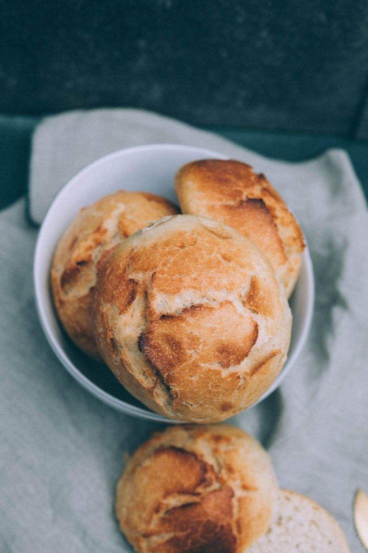 vegane Dinkelbrötchen selbst gemacht - How to Rezept