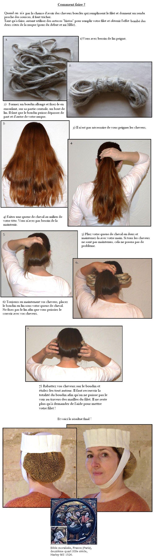 La crépine ou filet à cheveux - Cité d'Antan                                                                                                                                                                                 Plus