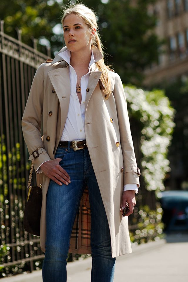 Brydie Photographed by The Sartorialist in New...