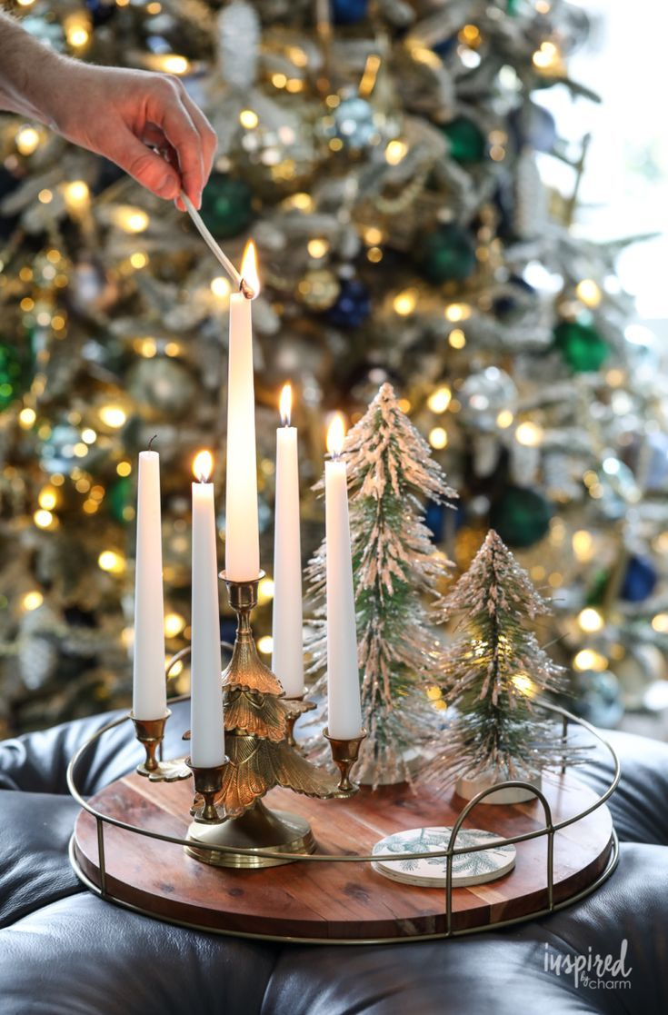 Inspired By Charm With Michael Wurm Jr Inspiredbycharm On Pinterest Christmas Decorations Living Room Pretty Christmas Decorations Christmas Decorations