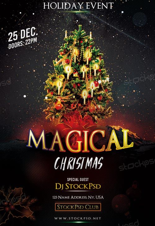 Magical Christmas Free Flyer Template - http://freepsdflyer.com/magical-christmas-free-flyer-template/ Enjoy downloading the Magical Christmas Free Flyer Template created by Stockpsd!   #Christmas, #Club, #Dance, #Dj, #Event, #Minimal, #Night, #Party, #Urban, #White, #Winter, #Xmas