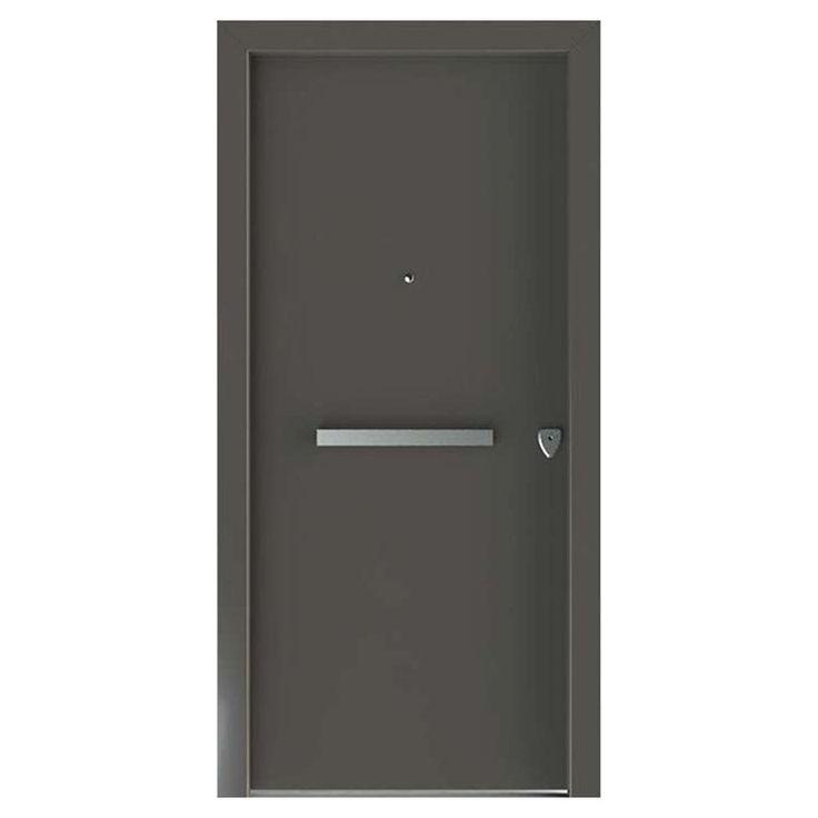 Μονόφυλλη Θωρακισμένη Πόρτα Εισόδου BALOMENOS - BRAVOPORT - Winco Configurator