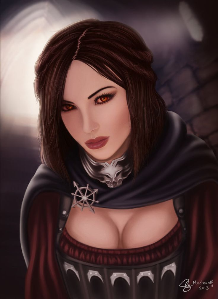 Skyrim real life Serana by maohwolf on deviantART