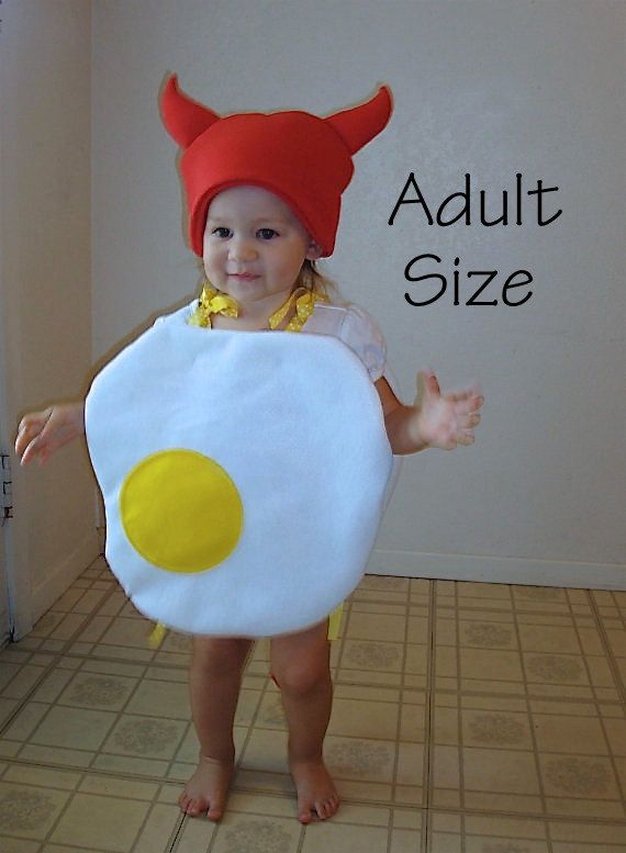 Adult Costume Halloween Deviled Egg Food Funny by TheCostumeCafe, $75.00