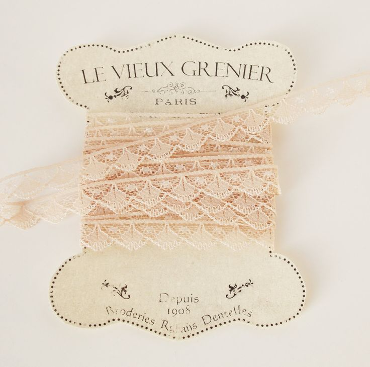 2 yards, vintage nude lace, tan lace trim, sewing supplies, lace trim ribbon, crafting, costume, embellishment, sewing accessories. (R5) by LeVieuxGrenier on Etsy