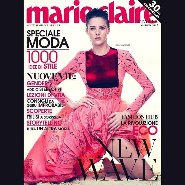 NEW WAVE!  SPECIALE MODA: 1000 idee di stile!  Non perdetevi #MarieClaireItalia di marzo da domani su tablet e dal 16 febbraio in edicola  Modella: #ElizaCummings Servizio: #ElisabettaMassari Foto: #DavidBellemere Lk: #Valentino #MarieClaire30thanniversary #MCLikesTimeless #MCcover #MCshooting #MCtendenze #MClikes #MadeinItaly #StayTuned #NewWave #SpecialeModa  via MARIE CLAIRE ITALIA MAGAZINE OFFICIAL INSTAGRAM - Celebrity  Fashion  Haute Couture  Advertising  Culture  Beauty  Editorial…