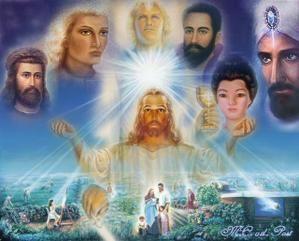 Initiation à LaLumière Des Maîtres Ascensionnés