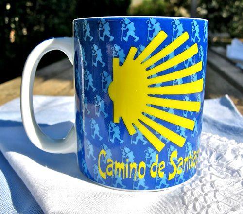 Ceramic mug from the Camino de Santiago
