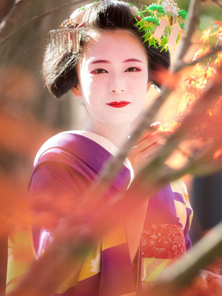 2017 舞妓 祇園甲部 佳つ扇さん 東寺にて 2017 maiko, gion kobu, Katsusen at Touji-temple