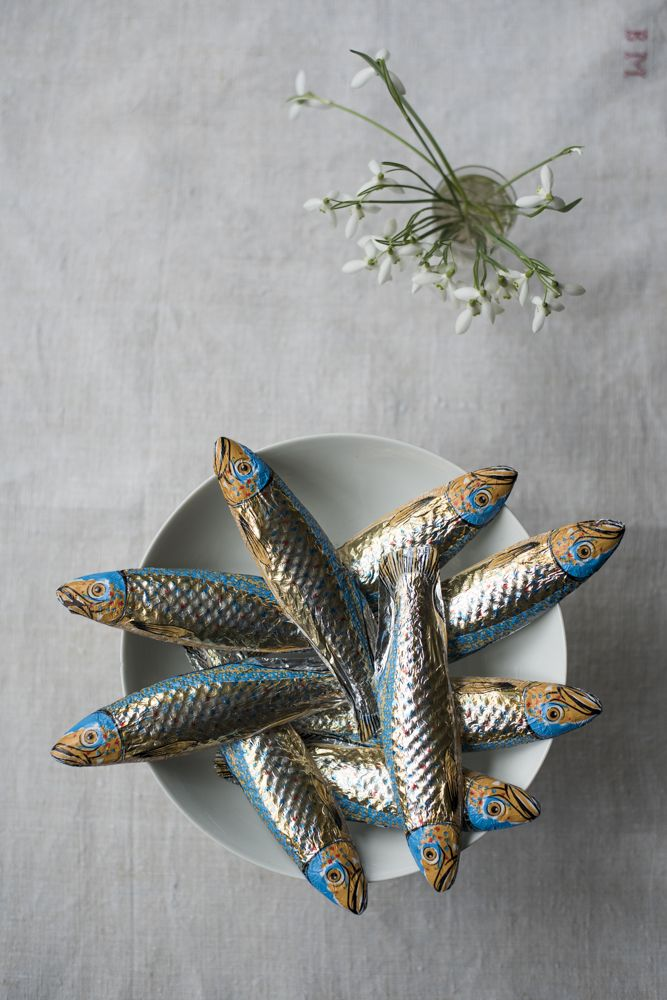 Chocolate fish available online for Easter