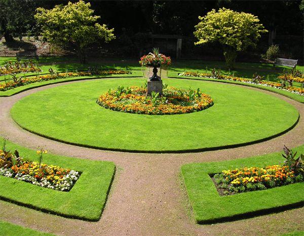 beautiful and simple victorian garden aka secret garden