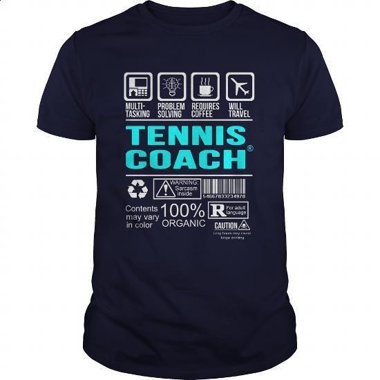TENNIS-COACH - #retro t shirts #vintage shirts. SIMILAR ITEMS => https://www.sunfrog.com/LifeStyle/TENNIS-COACH-100490060-Navy-Blue-Guys.html?60505