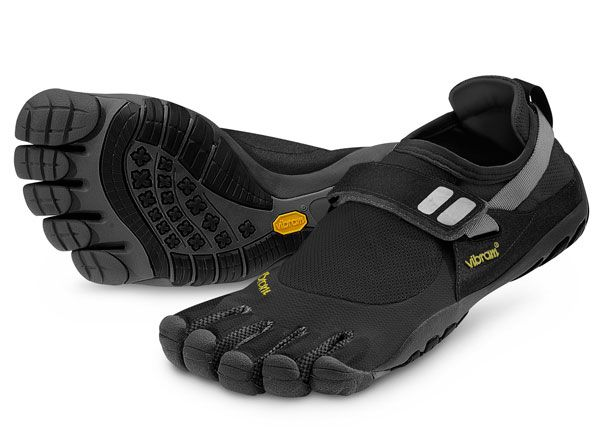 "Vibram Five Fingers. Lovingly referred to as ""toe shoes"""