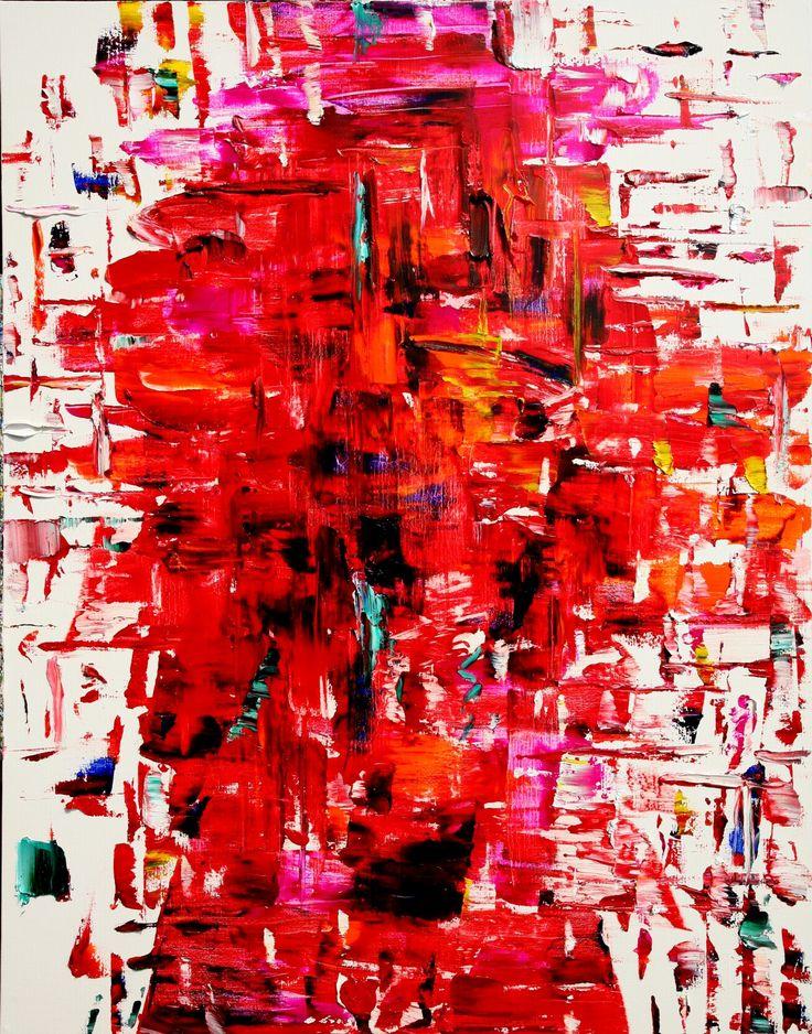 phoenix 116.8x91cm oil on canvas