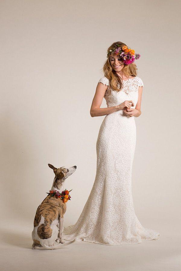 Amy Kuschel 2015 Wedding Dress - really pretty lace